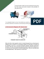 electric generator.docx