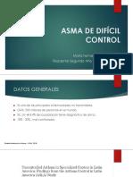 Asma Difícil Control
