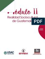 Modulo 2 realidad sociocultural de Guatemala