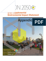 VISION 2050 DEIS Appendices