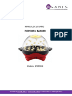 Manual Popcorn Maker Blanik