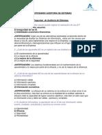 Cuestionario Sistemas de Información