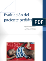 Evaluación Pcte Pediatrico Urgencias