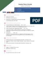 Como Hacer Curriculum Vitae Profesional Aleman 778 Pdf1