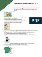 Actividades para Trabajar la Literatura en la clase de.docx
