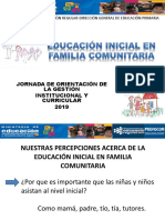 Presentación Educación Inicial - 2019