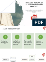 10 Liderazgo Pastoral en la Pedagogía del Papa Francisco Resumen.pptx