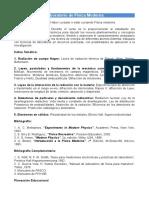 Programa LabFisicaModerna PlanCreditos