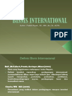 International Bussines