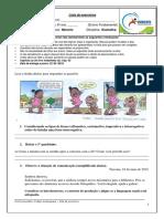 Lista de Exercícios de Gramática Profº Marcelo 6º Ano p2 i Bim