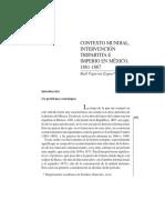 Lectura 13 Contexto Mundial, Intervención Tripartita e Imperio en México (1861-1867)