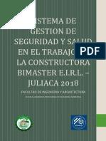 Sistema de Gestion de Seguridad y Salud en el Trabajo BIMASTER.pdf