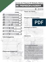 3D&T Alpha - Ficha de Personagem - Biblioteca Élfica.pdf