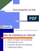 Ejemplo de plan de marketing por internet
