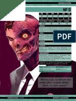 Ficha de Personagem  Duas Caras