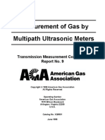 AGA Report No.9-1998 - Measurement of Gas by Multipath Ultrasonic Meters.pdf