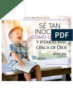 Es Con 374 Sé Tan Inocente Como Un Niño y Estarás Más Cerca de Dios Convertido(1)