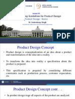 Product Design - Basics