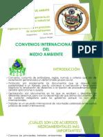 Convenios Internacionales Protección del medio ambiente
