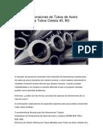 Tabla de Dimensiones de Tubos de Acero.docx