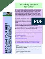 Becoming Your Best Newsletter - September/October 2010