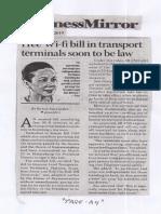 Business Mirror, Apr. 2, 2019, Free Wi-fi bill in transport terminals soon to be law.pdf