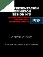 PPT-N°5-LA REPRESENTACIÓN DEFINICIÓN--