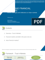 Trust and Financial Markets