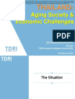 Thailand Aging Society & Economic Challenges