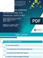 Banks, Digital Banking Initiatives and the Financial Safety Net