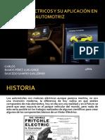 Motores Eléctricos en Los Automóviles