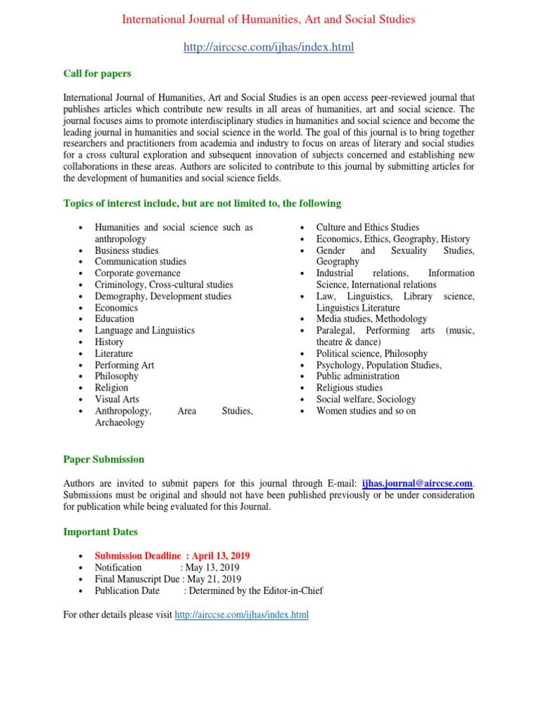 International-Journal-of-Humanities-Art-and-Social-Studies
