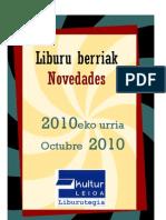 2010eko urria - Octubre 2010