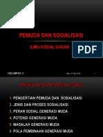 PPT PEMUDA DAN SOSIALISASI (Ilmu Sosial Dasar).pptx