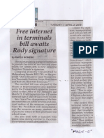 Philippine Star, Apr. 2, 2019, Free internet in terminals bill awaits Rody signature.pdf