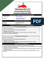 Ammonium Bifluoride MSDS - ChemicalBull   2019