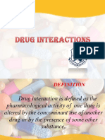 Unit-2 Drug Interactions