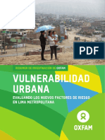 11 Vulnerabilidad Urbana_Oxfam