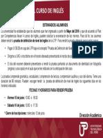 Comunicado Prueba de Definicion de Inglés 2018-2 (1)