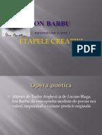 ION BARBU IX F