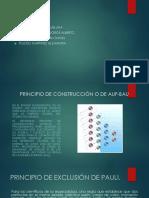 Principio de Construcción o de Auf-bau