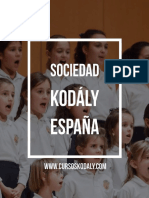 cursos del metodo kodaly