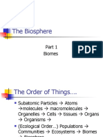 Lecture the Biosphere