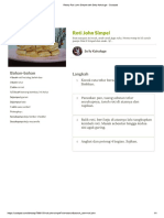 Resep Roti John Simpel Oleh Selly Kahuluge - Cookpad