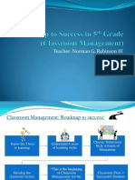 roadmap to success classroom mgt