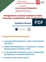 """Presentazione Salvatore Strozza_Incontro """"Immigrazione e processi d'integrazione"""""""