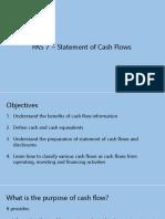 PAS 7 - Statement of Cash Flow