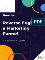 Reverse Engineer a Marketing Funnel A step-by-step guide