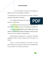Feasibility Study - Vegie Bread