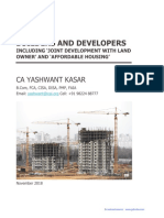 Note on GST for Builders and Developers CA Yashwant Kasar (1)